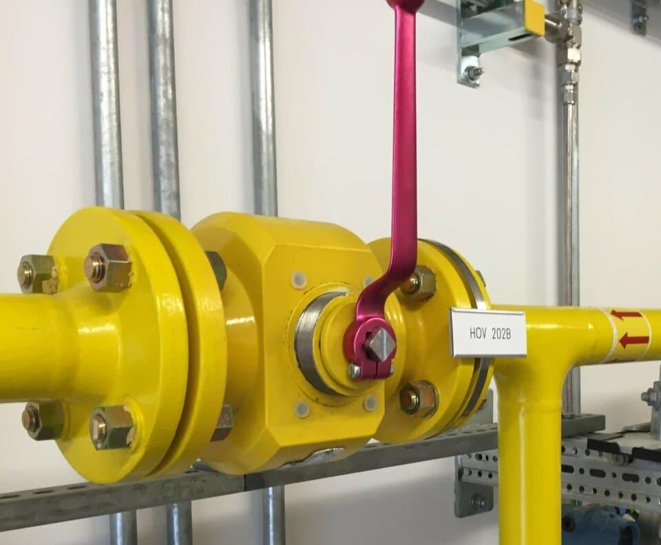Hartmann Ball Valve Hydrogen H2 PED gastight metal-to-metal sealing Power to Gas Falkenhagen