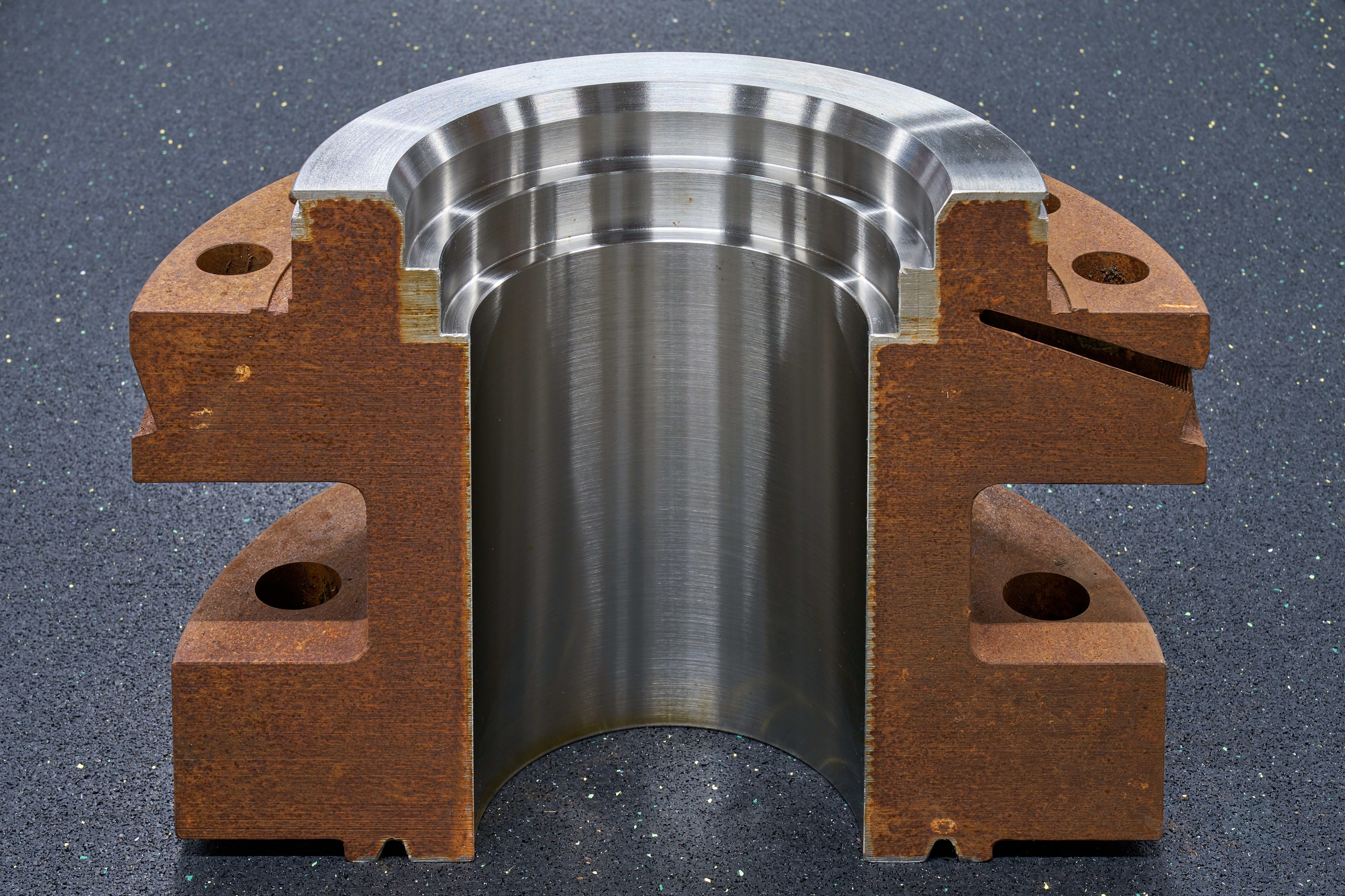 Hartmann Ball valve Closure with Inconel 625 cladding against corrosion Aramco