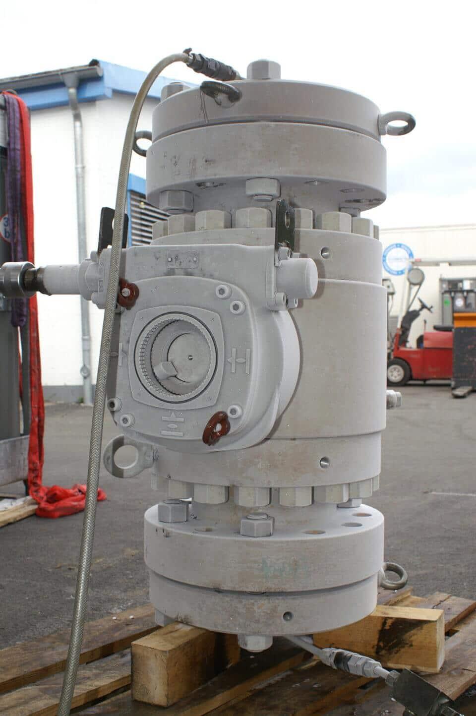 Hartmann Ball valve Low temperature cryogenic testing
