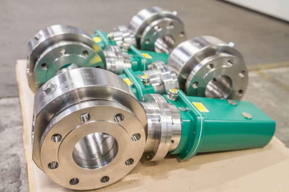 Hartmann Kugelhahn DGRL  Gasturbine Fuel Gas Stop Siemens Ansaldo